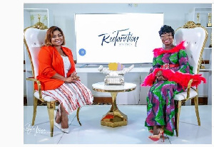 Empress Gifty and Stacy Amoateng