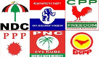 CPP, PNC, PPP and GCPP are all nkrumahist parties
