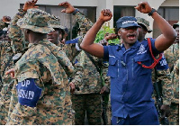 Operation Vanguard has arrested four illegal miners in the Central Region