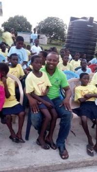 Kwamena Idan and the orphans