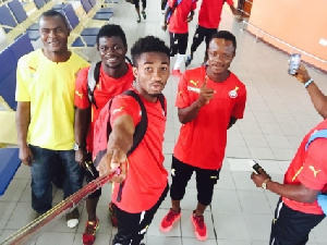 Local Black Stars' players