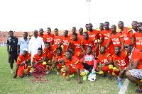 Kumawood stars at the Baba Yara Sports Stadium