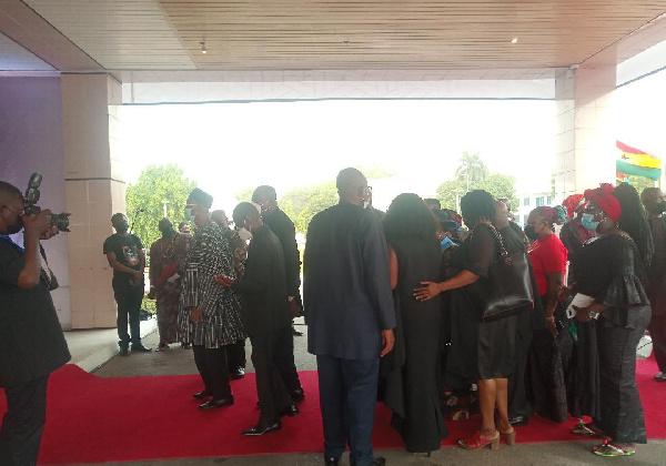 NDC mourn former President Rawlings