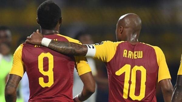 Andre and Jordan have scored 15 goals each for Ghana