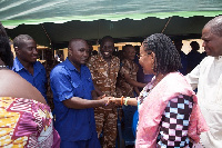 First Lady visits Nsawam Prison and School for the Blind