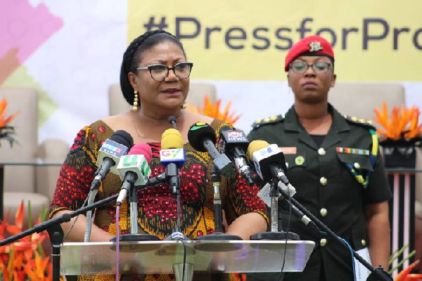 First Lady canvasses for four more years for President Akufo-Addo