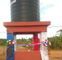 The mechanized borehole according to the MP is to ensure frequent hand-washing in the area