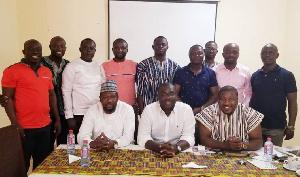 Sammy Awuku And NPP Executives
