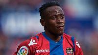 Black Stars striker, Emmanuel Boateng