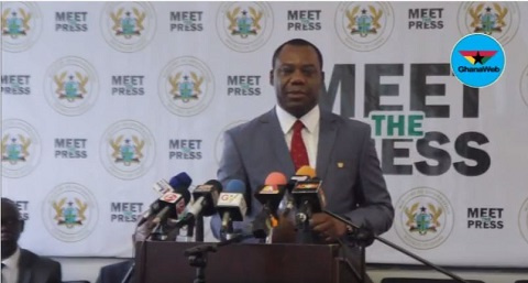 The Minister of Education, Dr Mathew Opoku Prempeh
