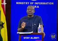 Minister for Information Kojo Oppong Nkrumah