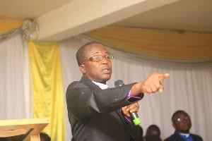 Bishop Isaac Kankam Boadu, Founder and Resident Pastor of Grace Community Church in Kumasi