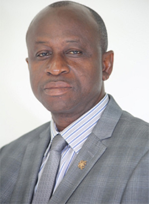 Mathias Kwame Ntow, MP for Aowin