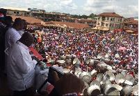 Akufo-Addo campaigns in Kumasi
