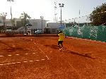 A tennis player. File photo