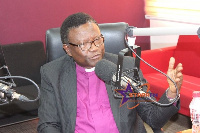 Reverend Professor Emmanuel Asante, the Chairman of the National Peace Council