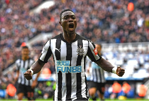Christian Atsu Newcastle Goal