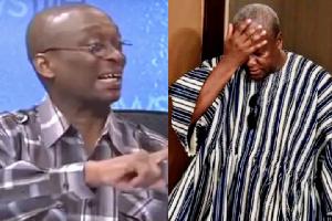 Kweku Baako and John Dramani Mahama
