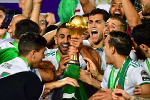 The Algeria national team won the 2019 Africa Cup of Nations