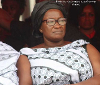 Mother of the late Ebony Reigns, Beatrice Oppong