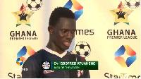 Liberty Professionals midfielder Godfred Atuahene