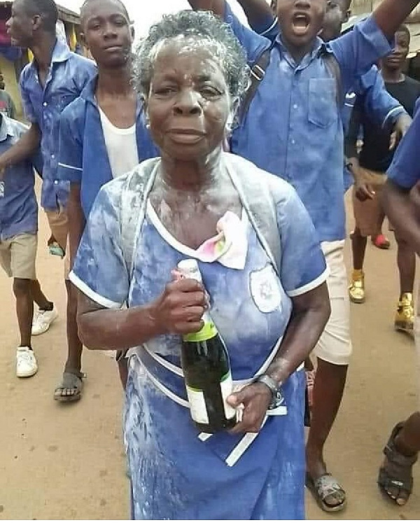 57-year-old mother-of-four completes BECE sets eyes on Free SHS