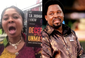 Evangelist Bisola Hephzi-Bah Johnson and Prophet TB Joshua