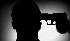 Suicide Man Shoot His Mind