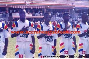 Hearts of Oak 1996 team