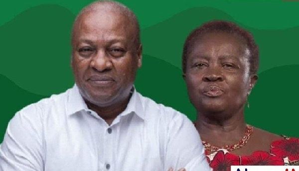 Mahama sparks fury over his running mate