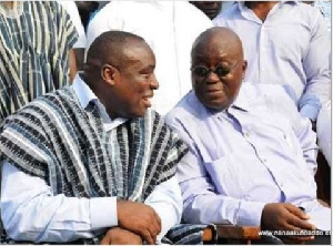 Akufo Addo Kwabena Agyepong Slld