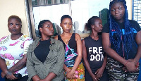 The suspected prostitutes were often used by armed robbers in their operations