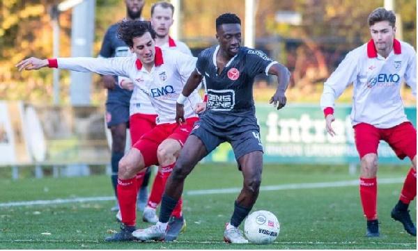 Samuel Brobbey named Player of the Week in Dutch third-tier