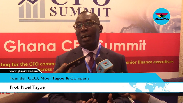 Dr Neol Tagoe, Professor of Accounting and Management practice at Nottingham University