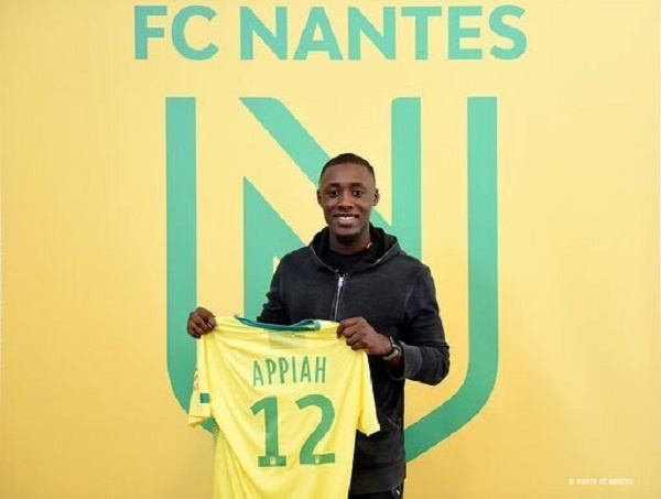 Dennis Appiah 'wouldn't mind' ending his career at FC Nantes
