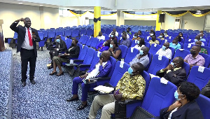 Committee members were sensitized on the incoming marine cargo insurance protocol