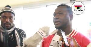Some returnees speaking to Ghanaweb