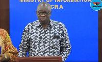 Lands and Natural Resources Minister, Kwaku Asomah-Cheremeh