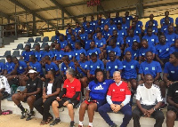 The 20 Ghanaian referees who were given FIFA badges