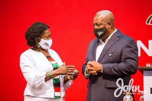 John Mahama And Jane Naana Opoku Agyeman1