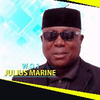 Julius Marine advises the public through his music