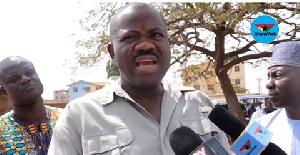 Joshua Akamba is National Organizer of the National Democratic Congress