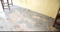 One of the housemasters explained that barely a year the building started deteriorating