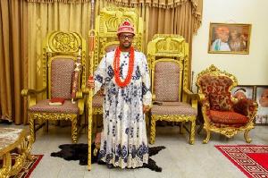 Dr Chukwudi Jude Ihenetu, head of the Igbo Community in Ghana