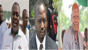 Koku Anyidoho, Stephen Atubiga and Allotey Jacobs