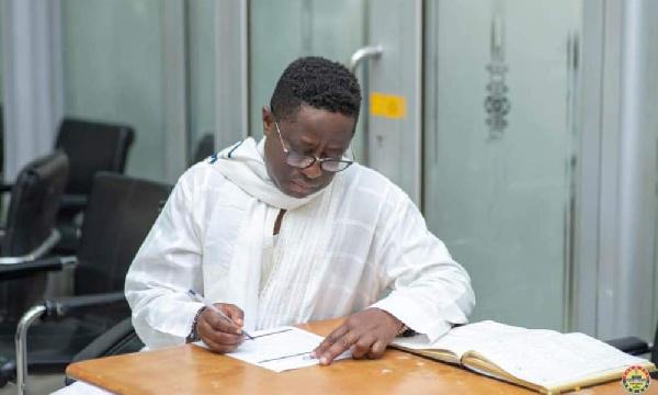 MP-elect for Hohoe John Peter Amewu