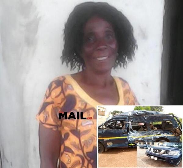 Coronavirus: Woman dies in bus crash as police chase maskless driver in Kumasi