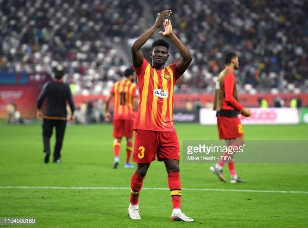 Kwame Bonsu wins Tunisian Super Cup with Esperance