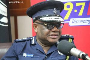 Inspector General of Police, Dr. John Kudalor