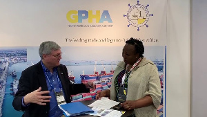 The GPHA stand at the Conference was manned by Corporate Affairs Manager of GPHA Nana Esi Soderberg